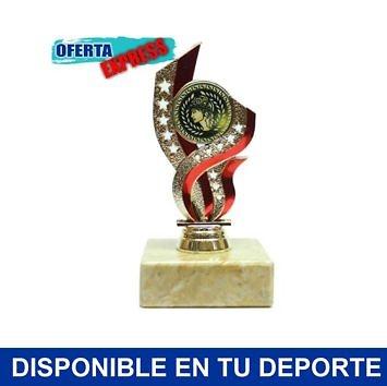 Trofeo portadiscos acrilico rojo