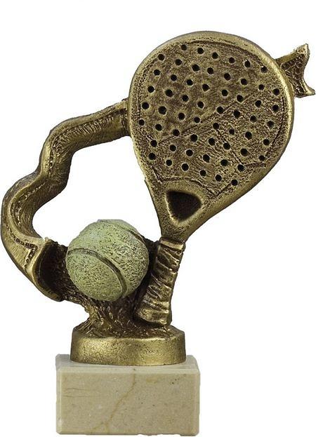 Trofeo raqueta de padel