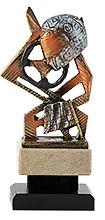 Trofeo realizado en resina, Coche.