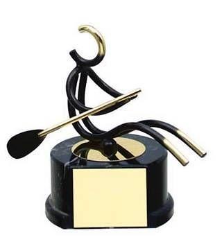 Trofeo remo artesanal