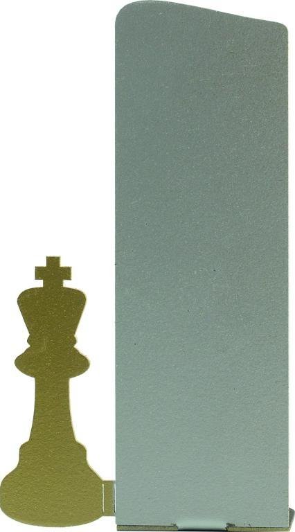 Trofeo silueta de meta de ajedrez