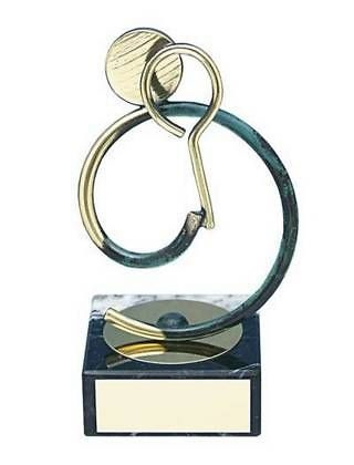 Trofeo squash artesanal