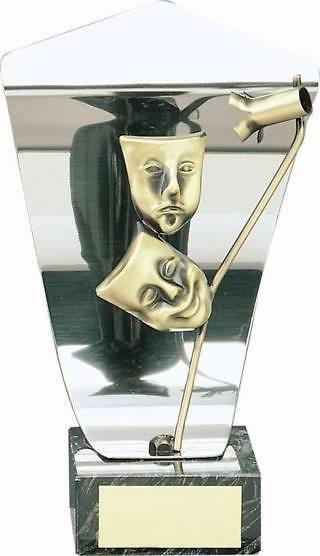 Trofeo teatro plateado