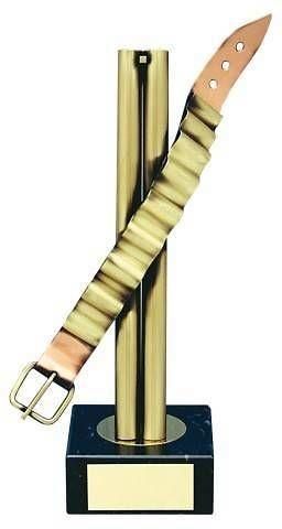Trofeo tiro escopeta cinturón cartuchos