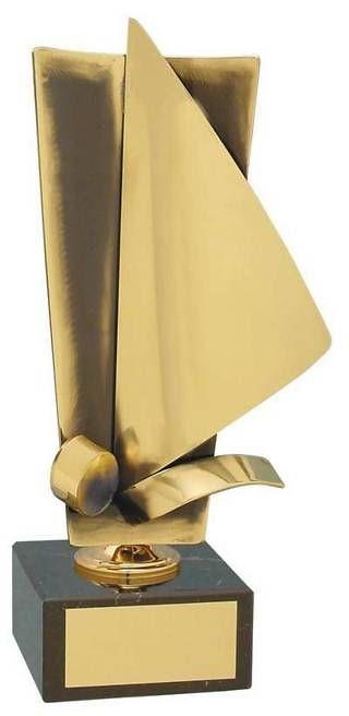 Trofeo vela artesanal