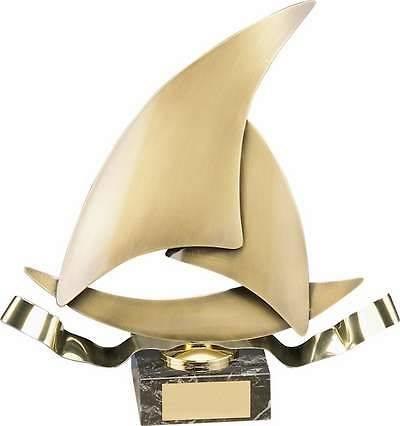 Trofeo vela barco