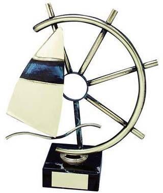 Trofeo vela timón