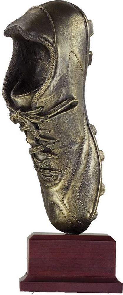 Trofeo vertical bota de futbol