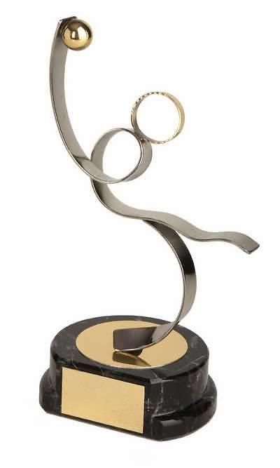 Trofeo waterpolo dorado