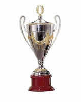 Copa Alheña Plata y Oro
