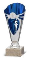 Copa Escobedo en azul y plateado para disco deportivo