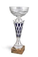 Copa Uva rejilla Bicolor en tonos platas y azules