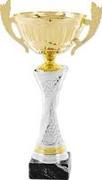 Copa bicolor plateada y Dorada modelo Morata