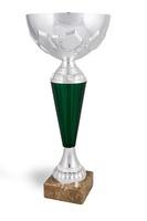 Copa modelo Acala en plateado y cuerpo en verde