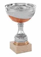 Copa plateada tallada La Rinconada