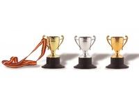 Medalla Copa disco deportivo