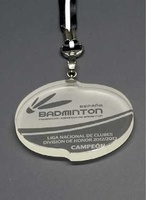 Medalla Deportiva Bozo Deportiva Cristal