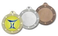 Medalla Megara en Oro, Plata, Bronce