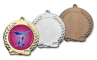 Medalla Melanctha Pequeño Pergamino