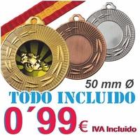 Medalla Oferta Fabricación Propia