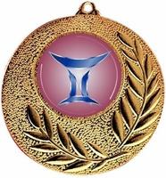 Medalla Paradela metálica de 50mm Ø
