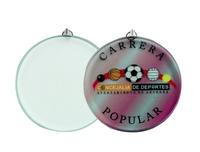 Medalla cristal para grabación a todo color
