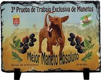 Placa de pizarra Leganés personalizable