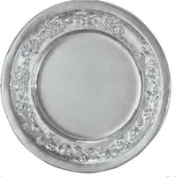 Plato Decorativo Crasipes Plata