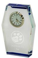 Reloj Fondeado en azul de Cristal Optico modelo Rodeo