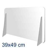 Separador metacrilato 49 cm x 39 cm horizontal