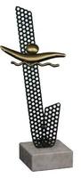 Trofeo Agata para Natacion en Latón