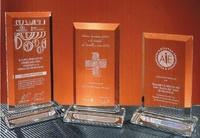 Trofeo Anaguta Biselado Cristal