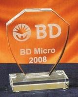 Trofeo Antandroy Escudo Cristal