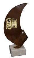 Trofeo Aplique con detalles de Literatura Oriana