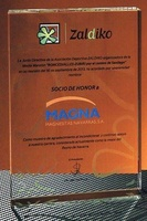 Trofeo Arabe 40mm Ancho Cristal