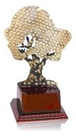 Trofeo Arbol de Latón