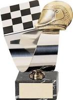 Trofeo Automovilismo Casco y Bandera