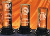 Trofeo Baga Cilindro Cristal