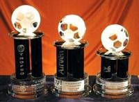 Trofeo Balanta Futbol Columnas Negras