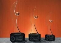 Trofeo Bamana Cristal Modernista