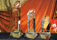 Trofeo Bari Peana Pentagonal Acrecentado