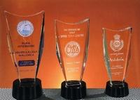 Trofeo Bateke Biselado Transparente