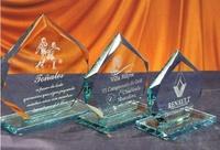 Trofeo Bemba Heptagonal Cristal