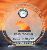 Trofeo Betsileo Reloj Circular Cristal
