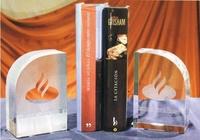 Trofeo Bezanozano Apoya Libros Cristal