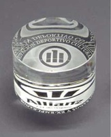 Trofeo Boer Circular Acrecentado Cristal