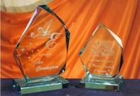 Trofeo Bor Cristal Irregular
