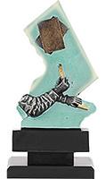 Trofeo Cartas en resina.