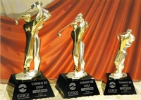 Trofeo Chagga Bronce Dorado