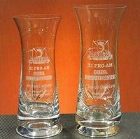 Trofeo Chikide Plata Florero Cristal